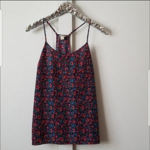 J. Crew colorful tank top size 6